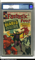 Fantastic Four #30 (Marvel, 1964) CGC VF- 7.5 Cream to off-white pages. Intro Diablo. Kirby art. Overstreet 2002 VF 8.0...