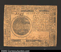 Colonial Notes:Continental Congress Issues, May 10, 1775, $7, Continental Congress Issue, CC-7, VF. This ...