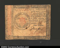 Colonial Notes:Continental Congress Issues, January 14, 1779, $1, Continental Congress Issue, CC-87, Fine....