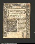 Colonial Notes:Connecticut, June 7, 1776, 3s, Connecticut, CT-198, Fine-VF. A wholly ...