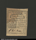Colonial Notes:Connecticut, October 11, 1777, 2d, Connecticut, CT-214, AU. An attractive ...