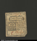 Colonial Notes:Connecticut, October 11, 1777, 2d, Connecticut, CT-214, XF-AU. A moderate ...