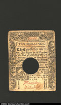 Colonial Notes:Connecticut, July 1, 1780, 10s, Connecticut, CT-238, XF-AU. A well ...