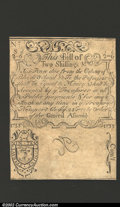 Colonial Notes:Rhode Island, August 22, 1738, 2s/6d, Rhode Island, RI-30, Choice AU. Cohen ...