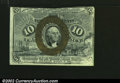 Fractional Currency:Second Issue, Fr. 1247 10c Second Issue New. Cut into the design at the t...