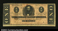 Confederate Notes:1864 Issues, 1864 $1 Clement C. Clay, T-71, Fine-VF. There are a couple of ...