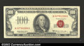 Small Size:Legal Tender Notes, 1966A $100 Legal Tender Note, Fr-1551, AU. This is a key note ...