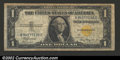 Small Size:World War II Emergency Notes, 1935-A $1 North Africa Silver Certificate, Fr-2306, Fine-VF....