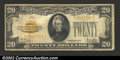 Small Size:Gold Certificates, 1928 $20 Gold Certificate, Fr-2402, VG....