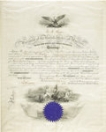 Autographs:U.S. Presidents, Rutherford B. Hayes Document Signed...