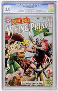 Silver Age (1956-1969):Adventure, The Brave and the Bold #23 The Viking Prince (DC, 1959) CGC GD/VG 3.0 Cream to off-white pages....