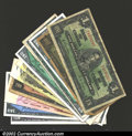 Canadian Currency: , An assortment of Canadian paper money as follows: (2) 1937 $1, ...