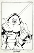 Original Comic Art:Covers, Kevin Maguire and Andrew Pepoy - X-Men Forever #4 Cover OriginalArt (Marvel, 2001)....