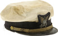 Movie/TV Memorabilia:Costumes, Buddy Ebsen's Costume Hat from Mister Roberts. This U.S.Navy uniform cap was worn by Ebsen during a 1947 summer sto...(Total: 1 Item)