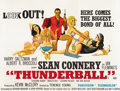 "Movie Posters:James Bond, Thunderball (United Artists, 1965). British Quad (30"" X 40"")...."