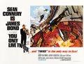 "Movie Posters:James Bond, You Only Live Twice (United Artists, 1967). British Quad (30"" X40"") Missile Silo Style...."
