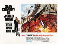 """You Only Live Twice (United Artists, 1967). British Quad (30"""" X 40"""") Missile Silo Style"""