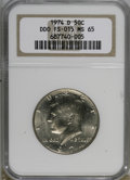 Kennedy Half Dollars: , 1974-D 50C Doubled Die Obverse MS65 NGC. FS-015. PCGS Population(65/8). (#96723)...