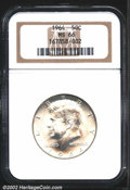 "Kennedy Half Dollars: , 1964 50C MS66 NGC. The latest Coin World ""Trends"" price is $..."