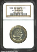 Commemorative Silver: , 1892 50C Columbian PR68 * Cameo NGC. What can we say? ...