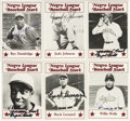 Autographs:Sports Cards, 1980's Negro League Stars Signed Trading Cards Lot of 46. Highlycollectible set was marketed by the great Buck O'Neil in a...