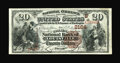 National Bank Notes:Kentucky, Louisville, KY - $20 1882 Brown Back Fr. 501 The Citizens NB Ch. #(S)2164. A well margined and brightly colored $20 Bro...