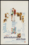 """Movie Posters:Comedy, Tall Story (Warner Brothers, 1960). Window Card (14"""" X 22""""). Comedy. Starring Anthony Perkins, Jane Fonda, Ray Walston and M..."""