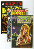 Bronze Age (1970-1979):Horror, DC Bronze Age Horror Group (DC, 1971-75). ... (Total: 8)