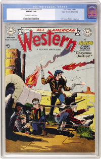All-American Western #107 Mile High pedigree (DC, 1949) CGC NM/MT 9.8 Off-white to white pages. Our Mile High copy is mi...