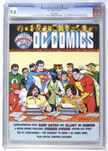 Magazines:Fanzine, Amazing World of DC Comics #2 (DC, 1974) CGC NM+ 9.6 White pages....