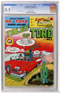 Bronze Age (1970-1979):Alternative/Underground, Tales of Toad #3 (Print Mint, 1973) CGC VF+ 8.5....