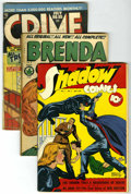 Golden Age (1938-1955):Crime, Crime and Mystery Group (Various, 1943-64) Condition: Average GD. ... (Total: 14)