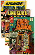 Silver Age (1956-1969):Horror, Charlton and Others Golden and Silver Age Horror Group (Various,1953-75) Condition: Average GD/VG.... (Total: 31)