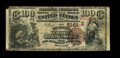 National Bank Notes:Kentucky, Louisville, KY - $100 1882 Brown Back Fr. 530 The LouisvilleNational Banking Company Ch. # (S)5161. A very scarce type ...