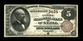 National Bank Notes:Nebraska, O'Neill, NE - $5 1882 Brown Back Fr. 469 The First NB Ch. # 3424. A fresh and original $5 Brown Back with everything a c...