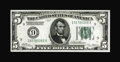 Fr. 1950-I $5 1928 Federal Reserve Note. Crisp Uncirculated. The margins are broad on three sides and the paper is brigh...