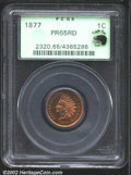 Proof Indian Cents: , 1877 1C PR65 Red PCGS. Eagle Eye Photo Seal. Since the ...