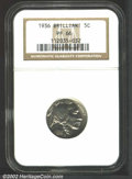 Proof Buffalo Nickels: , 1936 5C Type Two--Brilliant Finish PR66 NGC. Untoned with ...