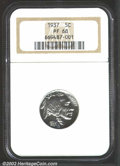 Proof Buffalo Nickels: , 1937 5C PR68 NGC. One would be hard pressed to find a ...
