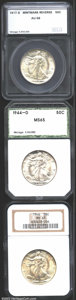 Additional Certified Coins: , 1917-S 50C Reverse Half Dollar AU58 SEGS, untoned with ...