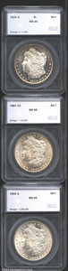Additional Certified Coins: , 1879-S $1 Silver Dollar MS64 Prooflike SEGS, ...