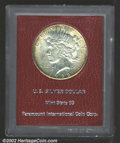 Additional Certified Coins: , 1922-S $1 Silver Dollar MS65 Paramount (MS64). Boldly ...