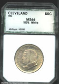 Additional Certified Coins: , 1936 50C Cleveland Half Dollar MS66 100% White PCI (MS65 ...