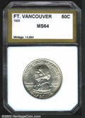 Additional Certified Coins: , 1925 50C Vancouver Half Dollar MS64 PCI (MS63). Brilliant....