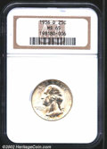 Washington Quarters: , 1936-D 25C MS65 NGC. A lustrous and well struck Gem that ...