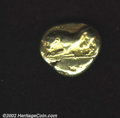 Ancients:Greek, Uncertain Thraco-Macedonian Mint. Circa 500 B.C. EL stater....