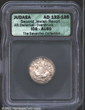 Ancients:Greek, Judaea. Bar Kokhba War, A.D. 132-135. AR denarius ...