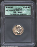 Ancients:Roman, Augustus, 27 B.C.-A.D. 14. AR denarius minted in Spain, c. ...