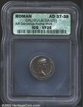 Ancients:Roman, Gaius (Caligula), A.D. 37-41. AR denarius minted A.D. 37-...