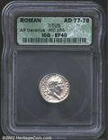 Ancients:Roman, Titus, A.D. 79-81. AR denarius minted as Caesar, A.D. 77-...